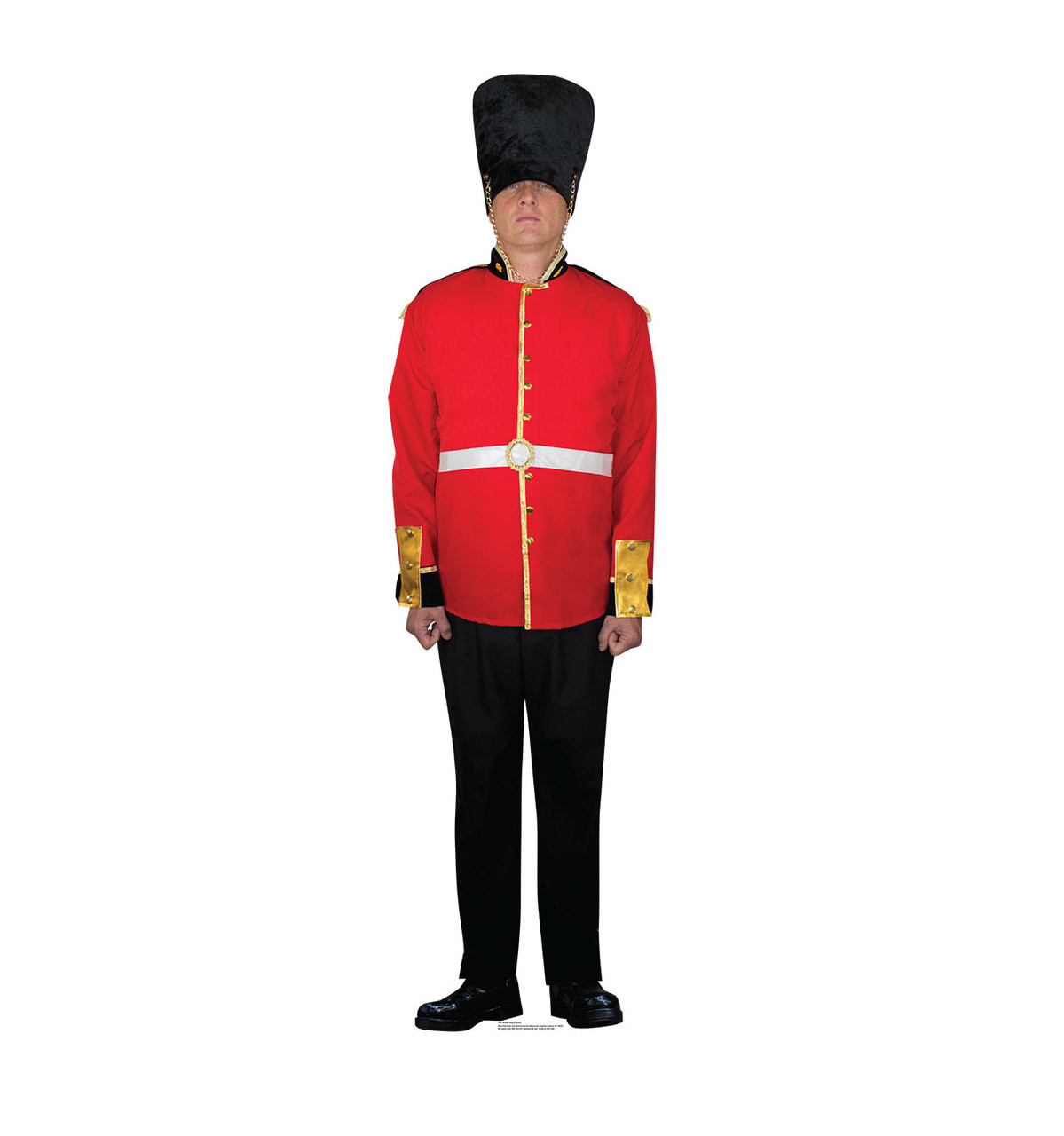 Life-size British Royal Guard Cardboard Standup