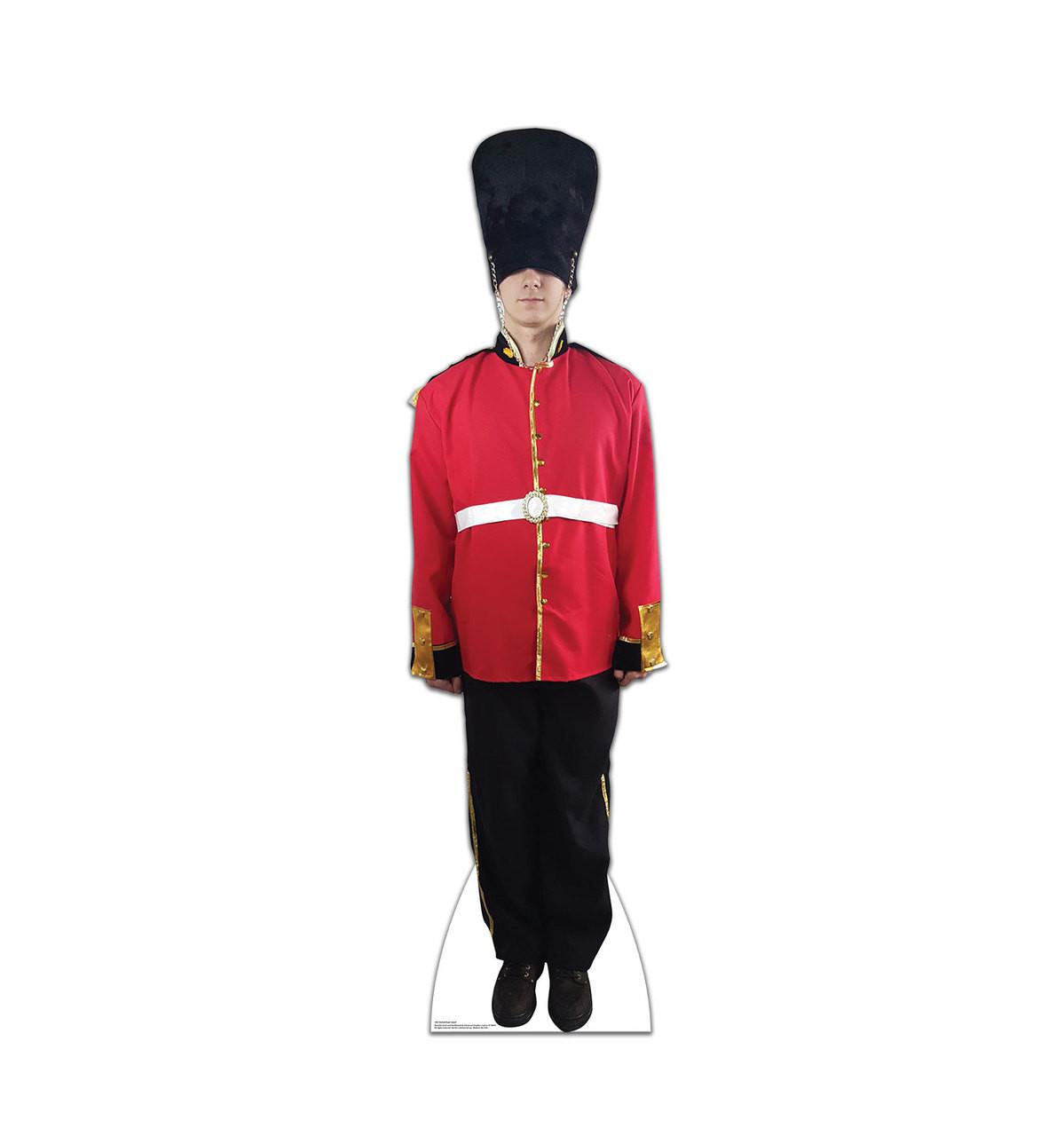 Life-size British Royal Guard Cardboard Standup 2