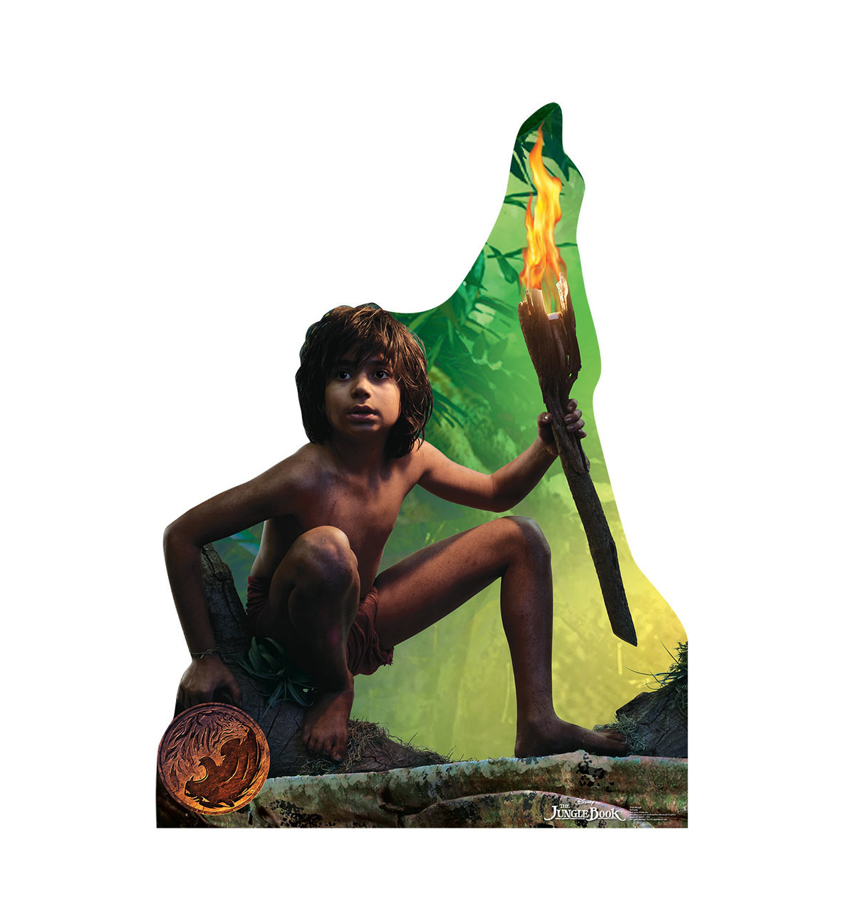 Life-size Mowgli - The Jungle Book Cardboard Standup
