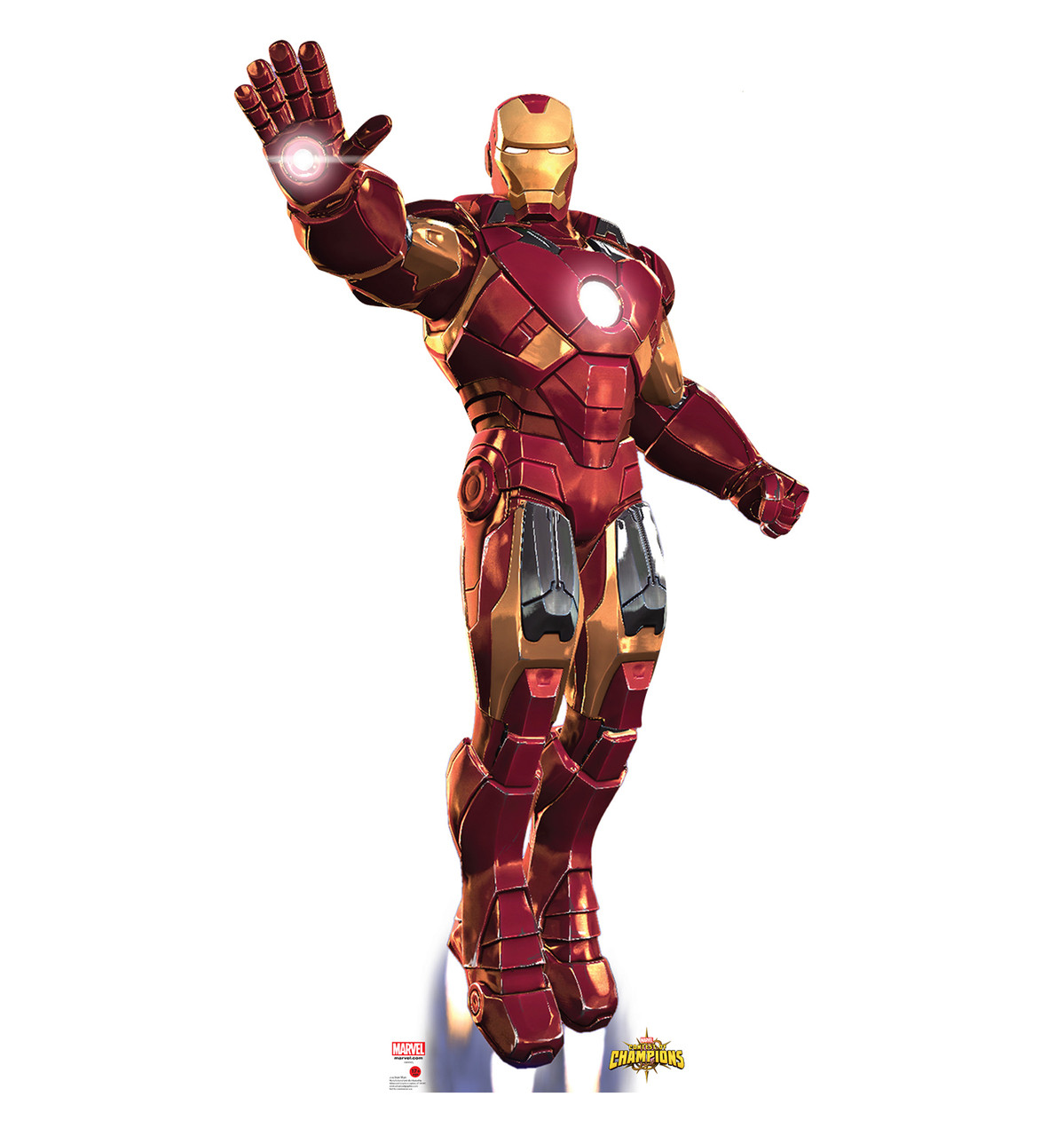 Life-size Iron Man: Contest of Champions Cardboard Standup