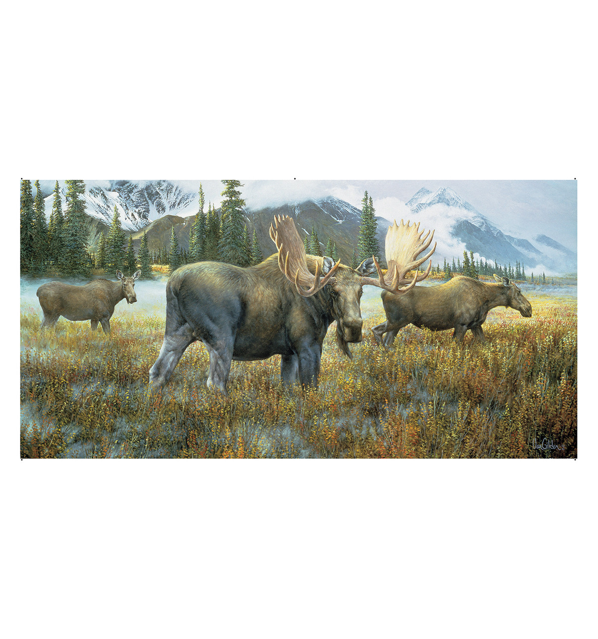 Moose Mural