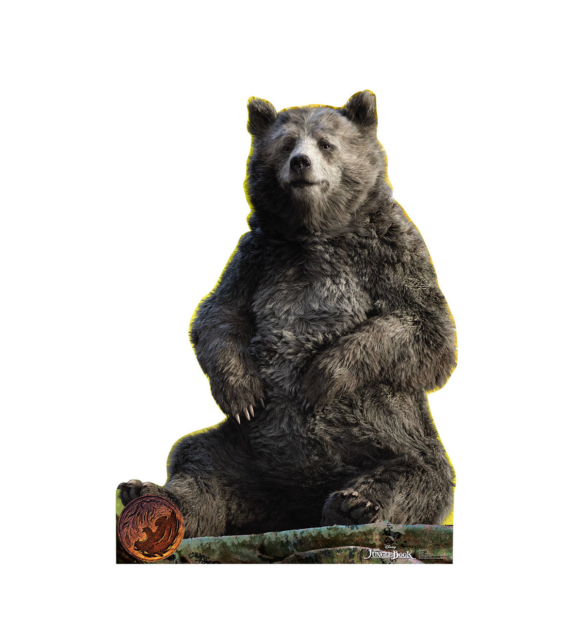 Baloo - The Jungle Book - Cardboard Cutout Front View