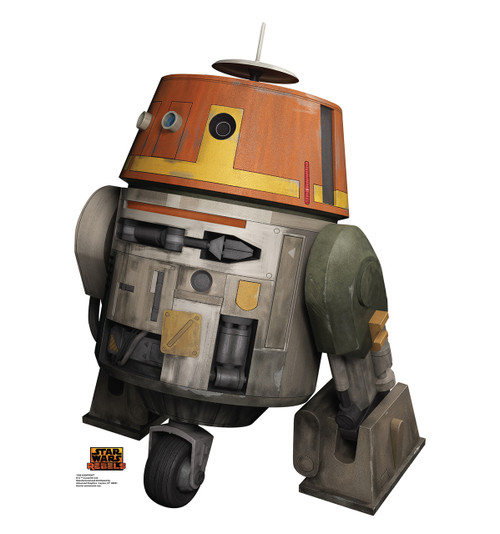 Life-size Chopper - Star Wars Rebels Cardboard Standup