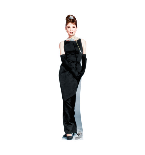 Audrey Hepburn (Breakfast at Tiffany's) Cardboard Cutout