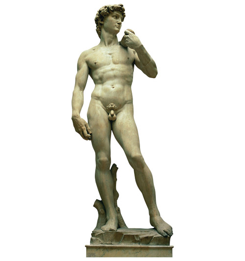 Life-size Italy Statue - The David Cardboard Standup