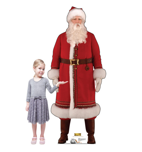 Santa - The Polar Express - Cardboard Cutout