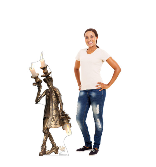 Life-size Lumiere (Disney's Beauty and the Beast) Cardboard Standup