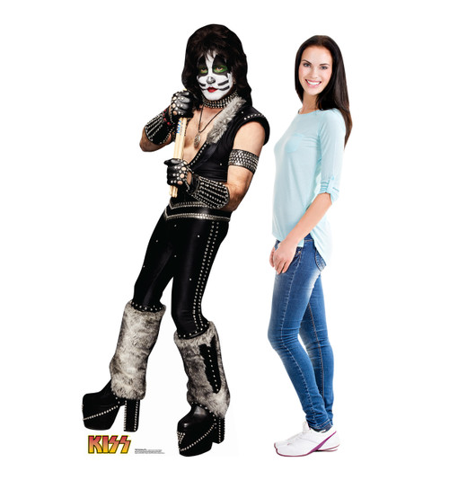 Life-size The Catman (KISS) Cardboard Standup 2