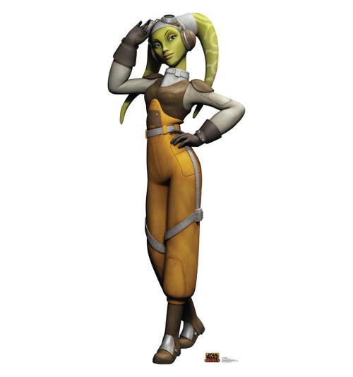 Life-size Hera Syndulla - Star Wars Rebels Cardboard Standup