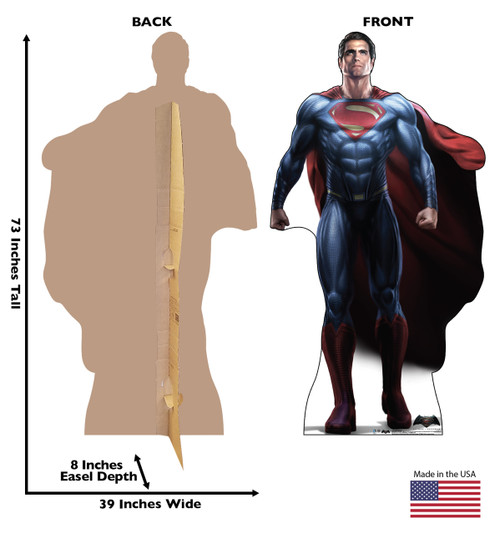 Life-size Superman - Batman V. Superman Cardboard Standup