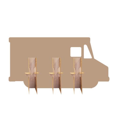 Life-size Taco Truck Standin Cardboard Standup