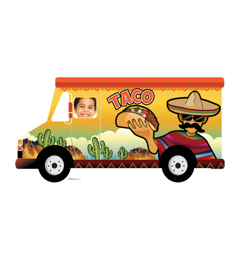 Life-size Taco Truck Standin Cardboard Standup 2