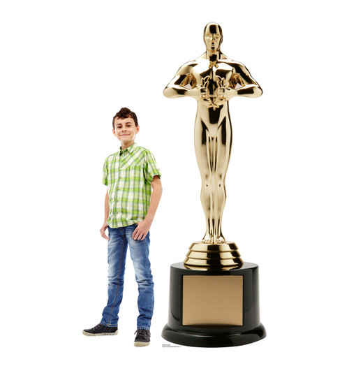 Life-size Trophy Award with Base Cardboard Standup 2