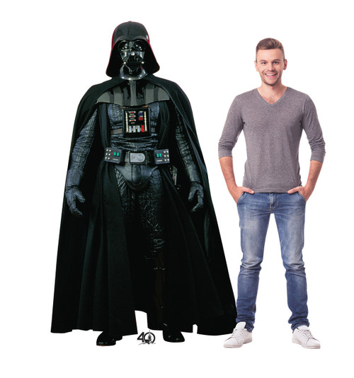 Life-size Darth Vader  (Star Wars 40th) Cardboard Standup 2