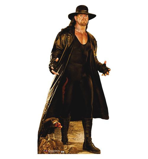 Life-size Undertaker Buzzard Cardboard Standup