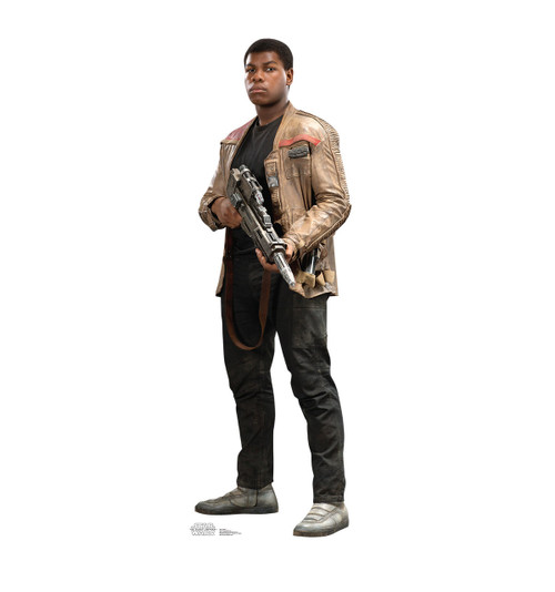 Life-size Finn - Star Wars: The Force Awakens Cardboard Standup