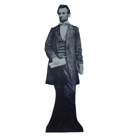 Life-size Pres. Abraham Lincoln Cardboard Standup
