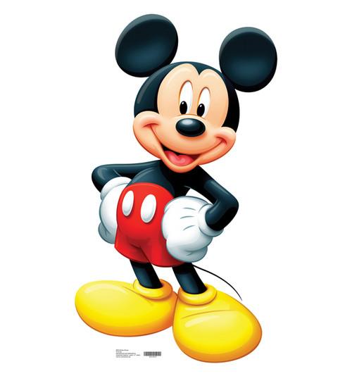 Mickey Mouse-Cardboard Cutout