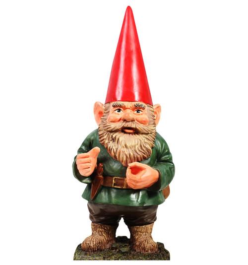 Garden Gnome - Cardboard Cutout 1951