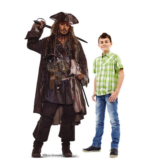 Life-size Jack Sparrow 02 (POTC 5) Cardboard Standup 2