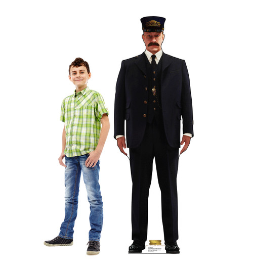 Conductor - The Polar Express - Cardboard Cutout 2116