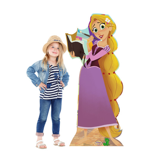 Life-size Rapunzel (Tangled The Series) Cardboard Standup |Cardboard Cutout 2