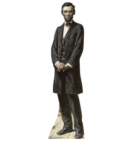 President Lincoln The Gettysburg Address - Cardboard Cutout 1965
