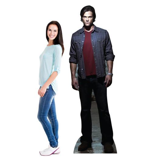 Life-size Sam Winchester - Supernatural Cardboard Standup |Cardboard Cutout