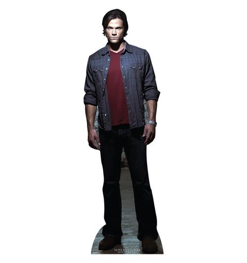 Life-size Sam Winchester - Supernatural Cardboard Standup  Cardboard Cutout