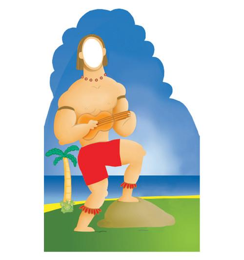 Hawaiian Guy Stand-In 553