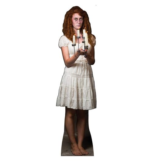 Life-size Candlestick Lady Cardboard Standup |Cardboard Cutout
