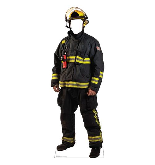Life-size Fireman Standin Cardboard Standup