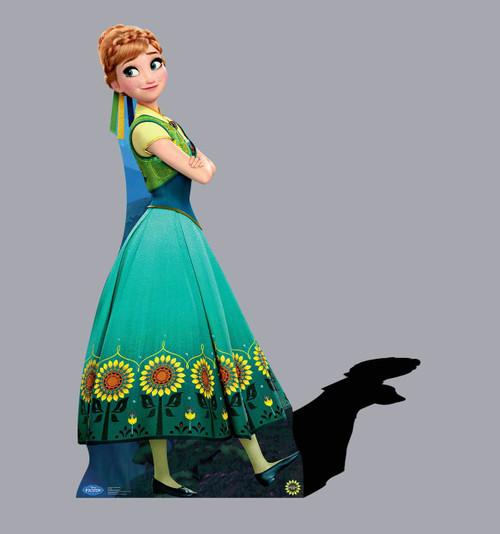 Life-size Anna - Frozen Fever Cardboard Standup