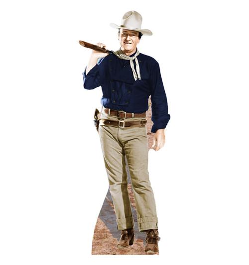 John Wayne-Rifle on Shoulder - Cardboard Cutout 500