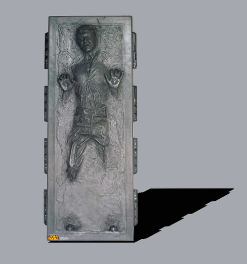 Life-size Han Solo in Carbonite (Star Wars) Cardboard Standup