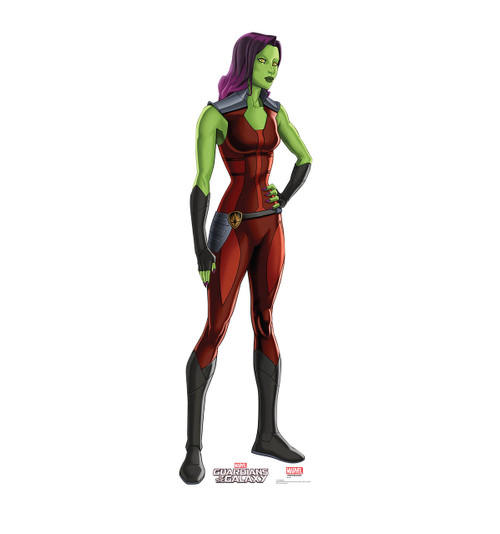 Gamora - Animated Guardians of the Galaxy - Cardboard Cutout 2059