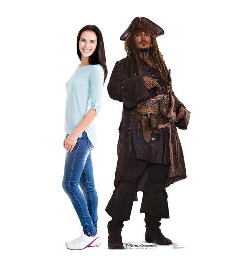 Life-size Jack Sparrow (POTC 5) Cardboard Standup 2