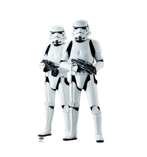Life-size Stormtroppers (Rogue One) Cardboard Standup