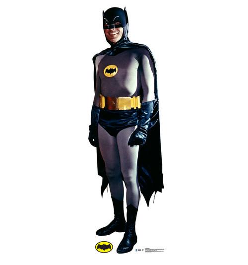 Batman - 1969 Batman and Robin TV Series-Cardboard Cutout Front View