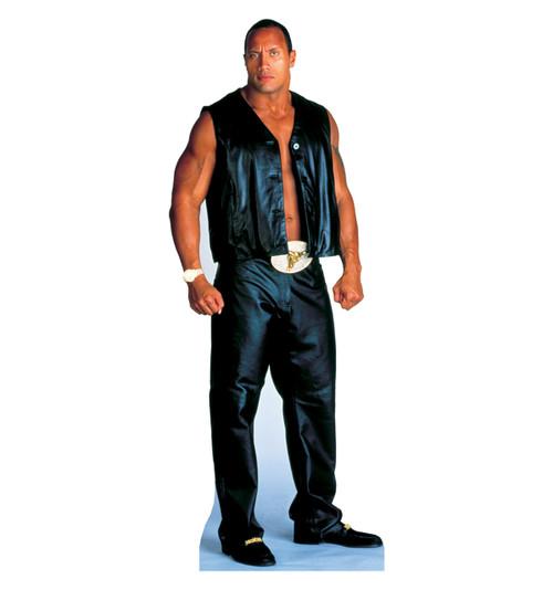 Life-size The Rock - WWE Cardboard Standup