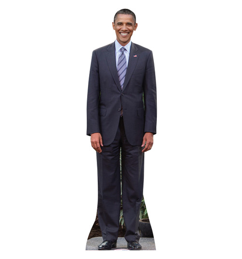 Life-size President Obama Cardboard Standup