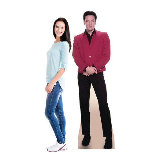 Elvis Red Jacket-Cardboard Cutout 1351