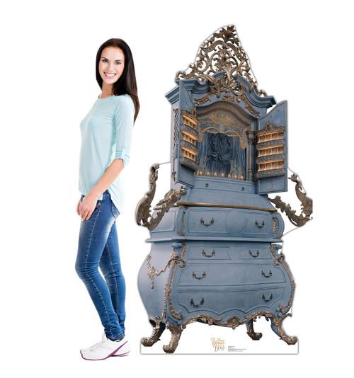 Life-size Garderobe (Disney's Beauty and the Beast) Cardboard Standup 2