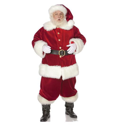 Ho! Ho! Santa Cardboard Cutout 1758