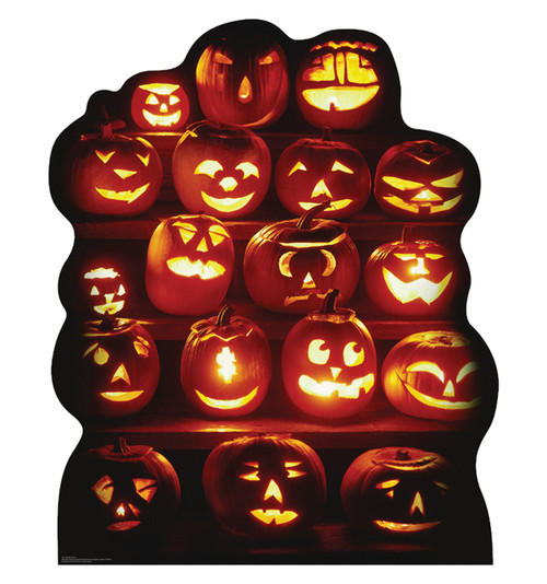 Pumpkin Group Cardboard Cutout 922