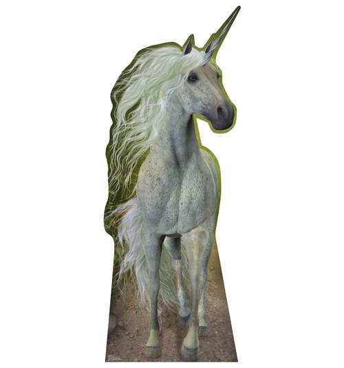 Unicorn Cardboard Cutout 1870