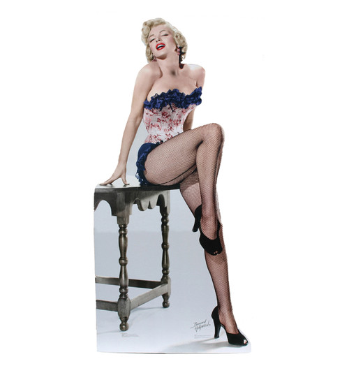 Marilyn Monroe-Net Stockings-Cardboard Cutout 314