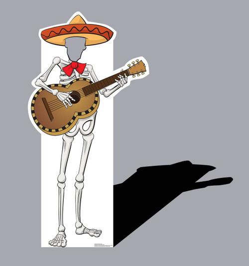 Life-size Fiesta Skeleton Standin Cardboard Standup