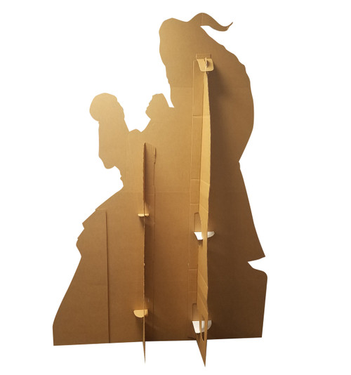 Life-size Belle and the Beast (Disney's Beauty and the Beast) Cardboard Standup 2