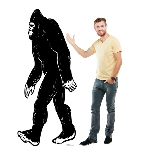 Life-size Bigfoot Cardboard Standup 2